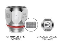 Vaporesso | Coil GT Meshed Ccell Ccell2
