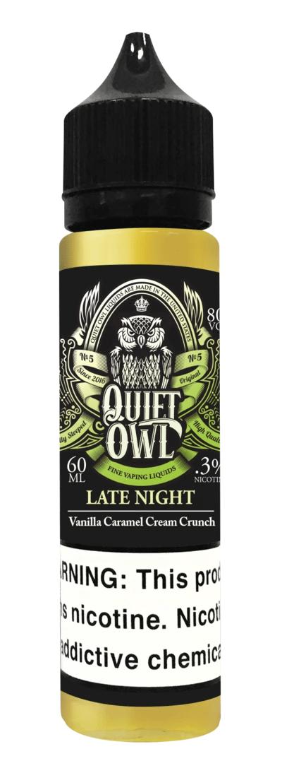 Quift Owl Late Night Vanilla Caramel Cream Crunch 60ml 1