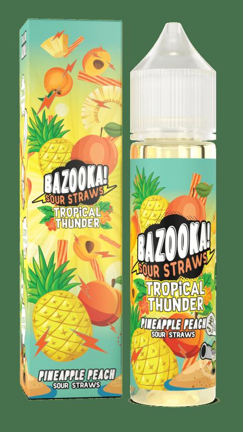 Bazooka! Sour Straws   Pineapple Peach 60ml
