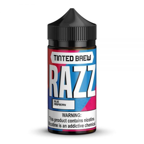 Tinted Brew RAZZ on ice 100ml 1