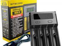 Nitecore   Carregador Nitecore New i4