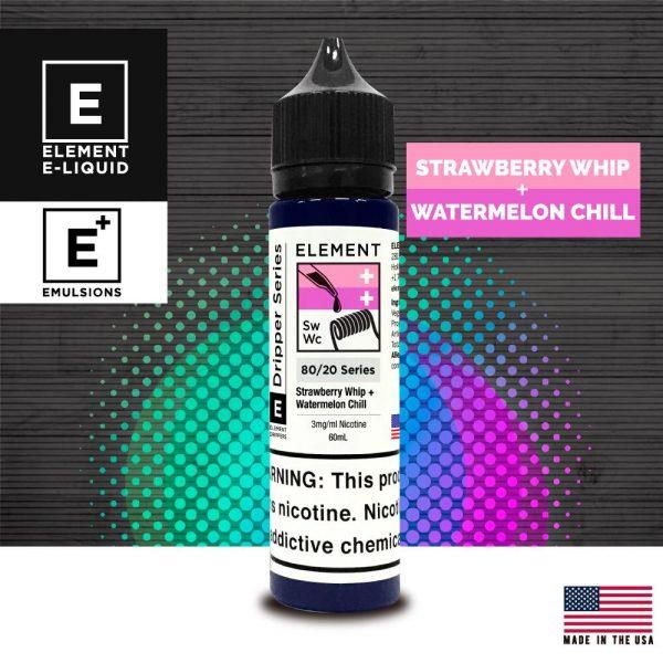 Element | Strawberry Whip + Watermelon Chill 60ml