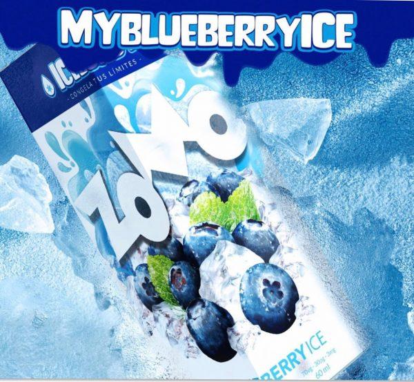 Zomo My Blueberry ICE 60ml 1
