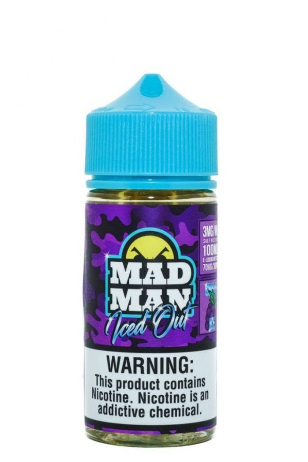 Madman Crazy Grape Iced Out 100ml 1