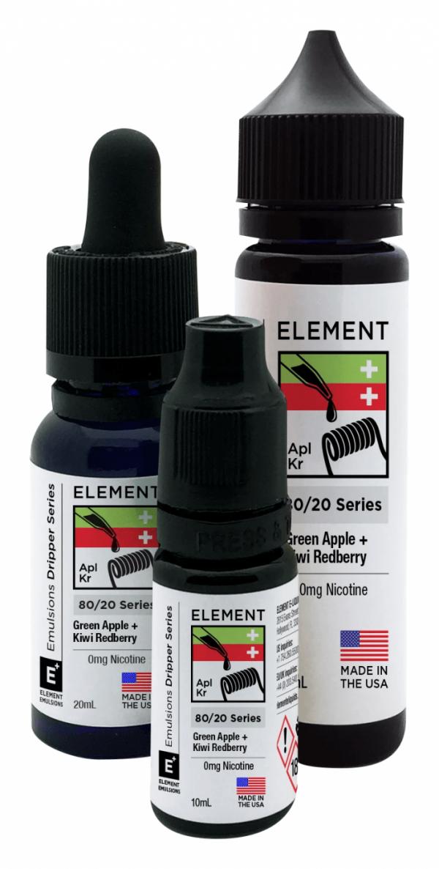 Element | Green Apple + Kiwi Redberry 60ml