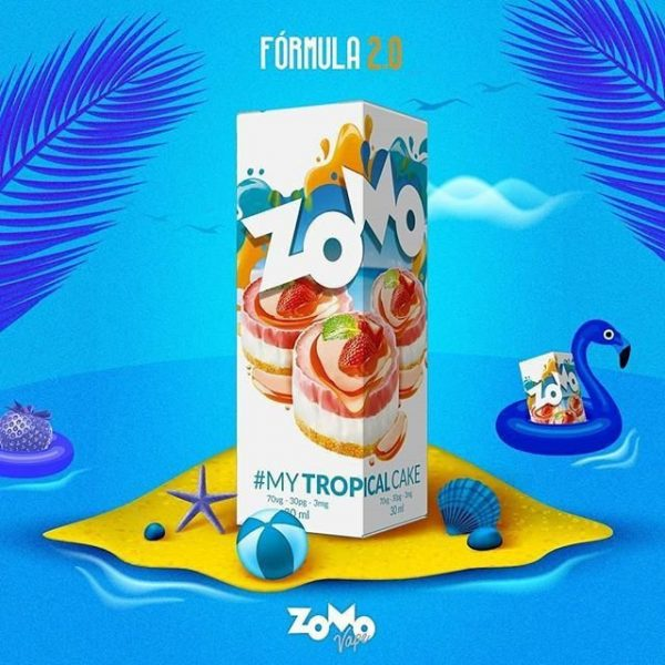 Zomo My Tropical Cake 60ml 1