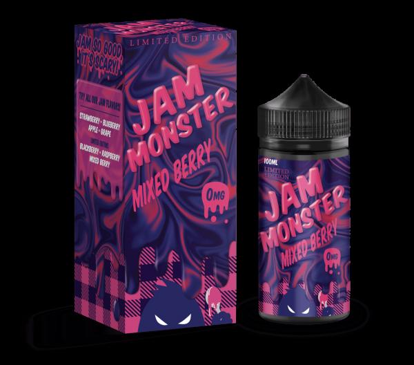 Monster Vape   Jam Monster   Mixed Berry 100ml