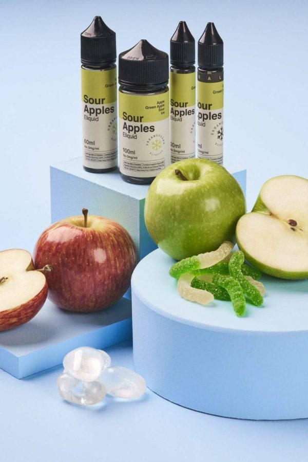 Dream Collab Sour Apples ICE Salt 30ml 1