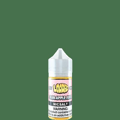 Loaded   Cran Apple Juice Salt 30ml