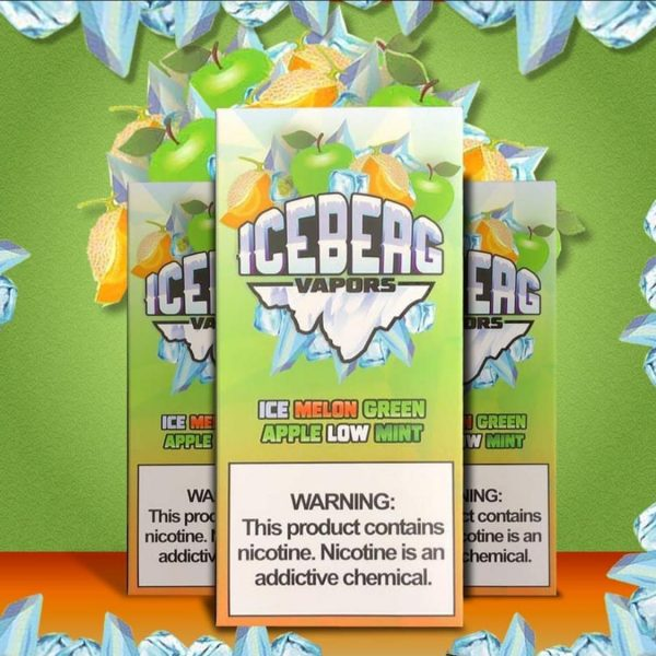 Iceberg   Melon Green Apple Low Mint 60ml/100ml