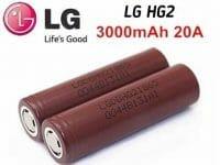 LG Chocolate HG2 3.6V 3000mAh - Bateria 18650