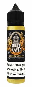 Quift Owl Starry Night Hazelnut Infused Tobacco 60ml 1
