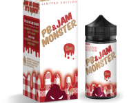 Monster Vape | PB & Jam Monster | Strawberry 100ml