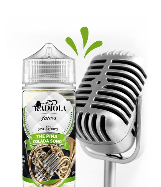 Radiola The Pina Colada Song 100ml 1