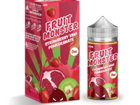 Monster Vape | Fruit Monster | Strawberry Kiwi Pomegranate 100ml