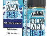 One Hit   Island Man Ice Salt 30ml