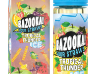 Bazooka! Sour Straws - Rainbow Ice 60ml