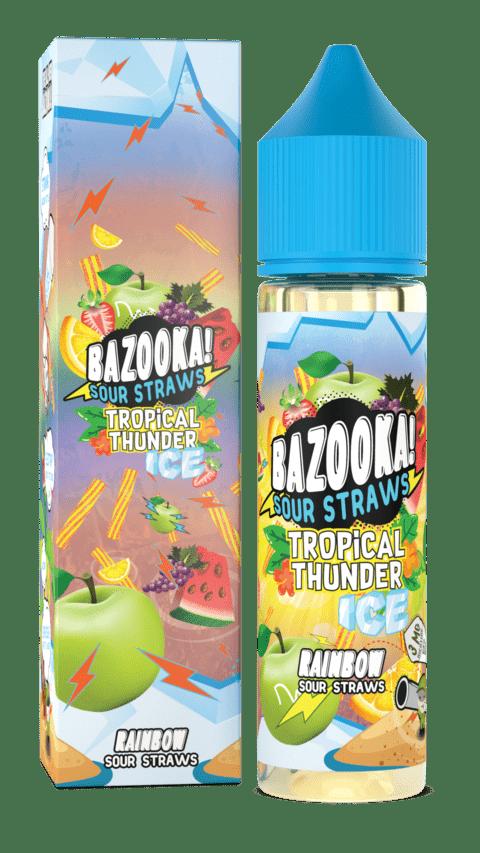 Bazooka! Sour Straws - Rainbow Ice 60ml
