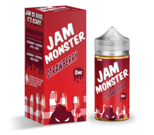 Monster Vape   Jam Monster   Strawberry 100ml
