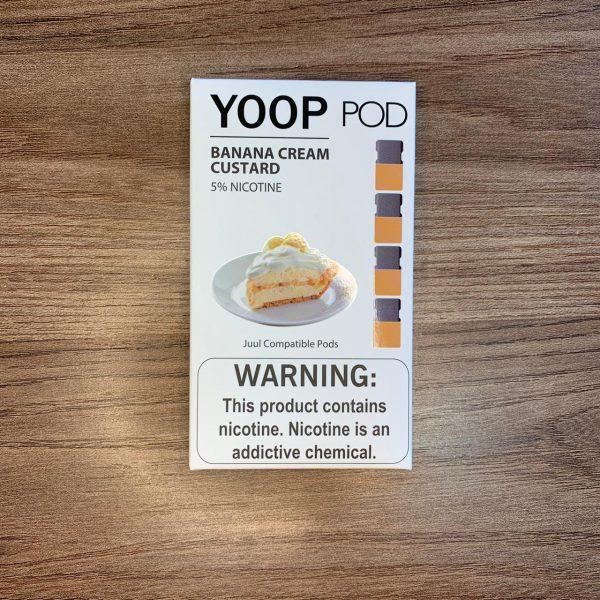 Yoop Pod | Banana Cream Custard
