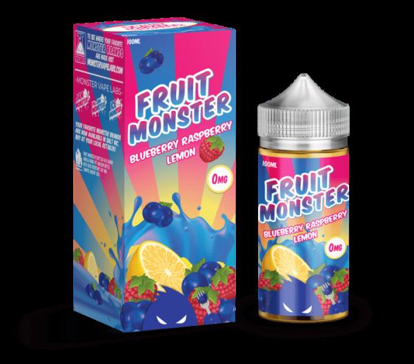Monster Vape | Fruit Monster | Blueberry Raspberry Lemon 100ml