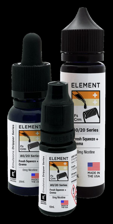 Element   Fresh Squeeze + Crema 60ml