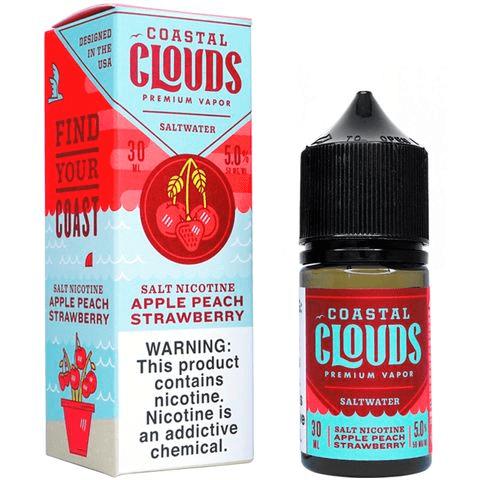Coastal Clouds | Apple Peach Strawberry Salt 30ml