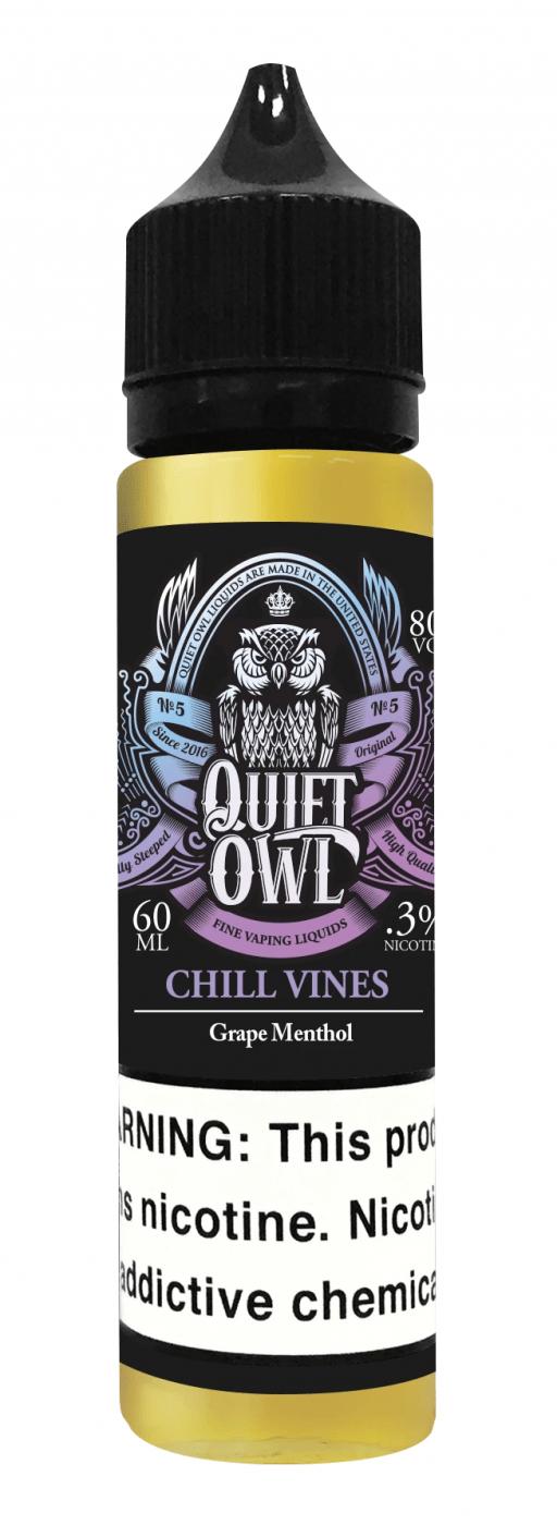 Quift Owl Chill Vines Grape Menthol 60ml 1