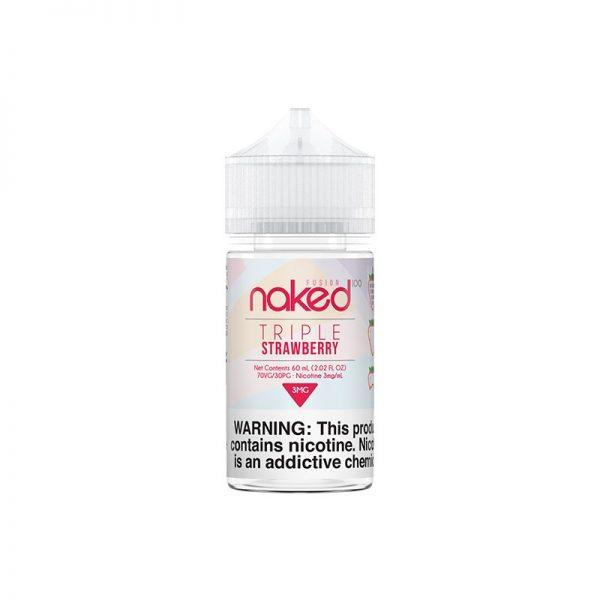 Naked Triple Strawberry 60ml 1