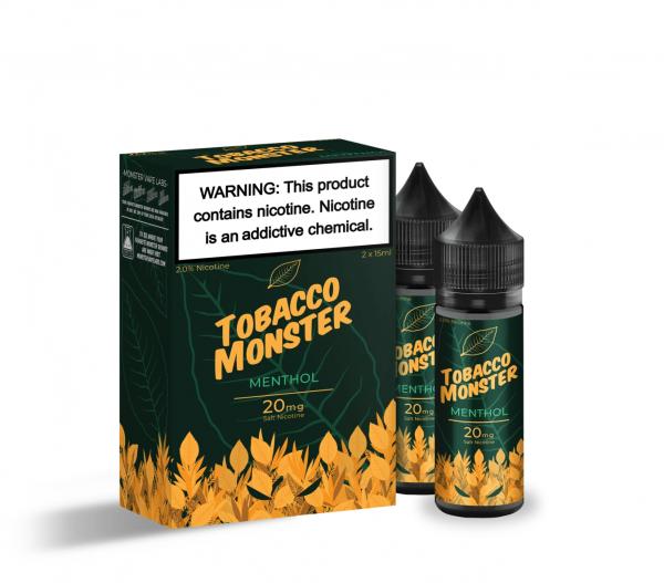 Monster Vape   Tobacco Monster   Menthol Salt 15ml