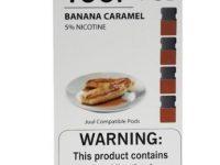 Yoop Pod | Banana Caramel