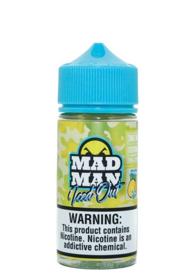 Madman Crazy Lemon Iced Out 100ml 1