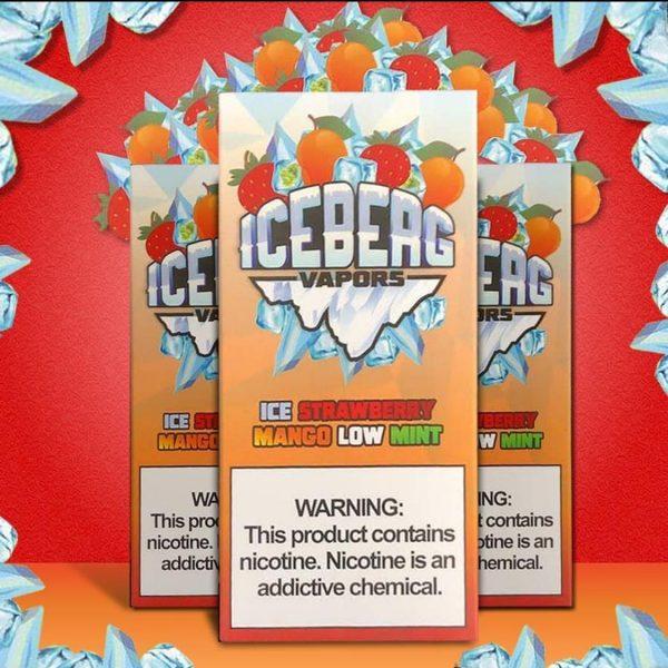 Iceberg | Strawberry Mango Low Mint 60ml/100ml