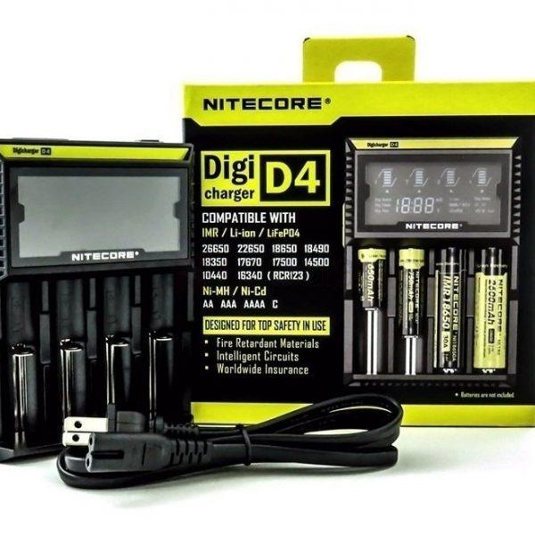 Carregador Nitecore D4 1