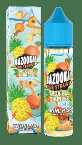 Bazooka! Sour Straws - Pineapple Peach Ice 60ml