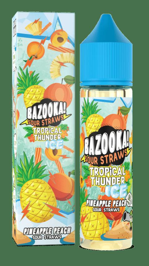 Bazooka! Sour Straws | Pineapple Peach Ice 60ml