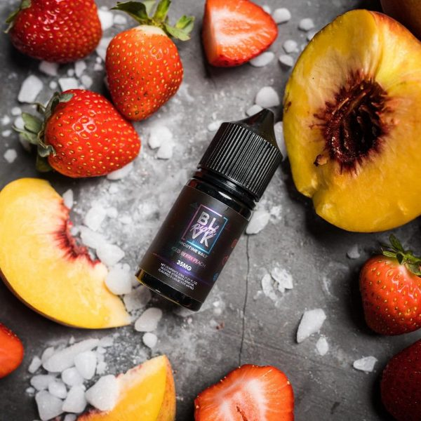 Blvk Iced | Berry Peach Salt 30ml