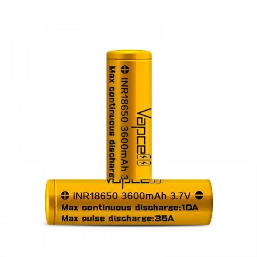 VAPCELL | Bateria VAPCELL 10A 18650 3600mAh