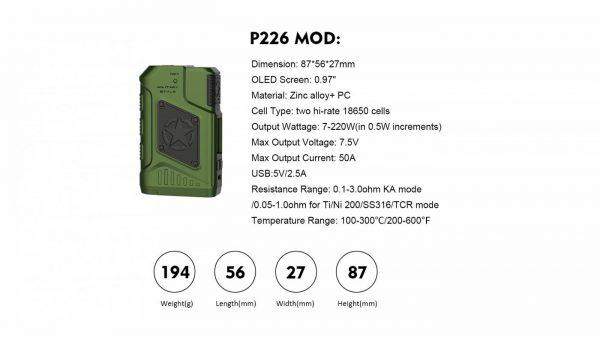 Teslacigs P226 Kit 200w-4355