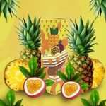 Yoop   Pineapple Passion Fruit 60ml