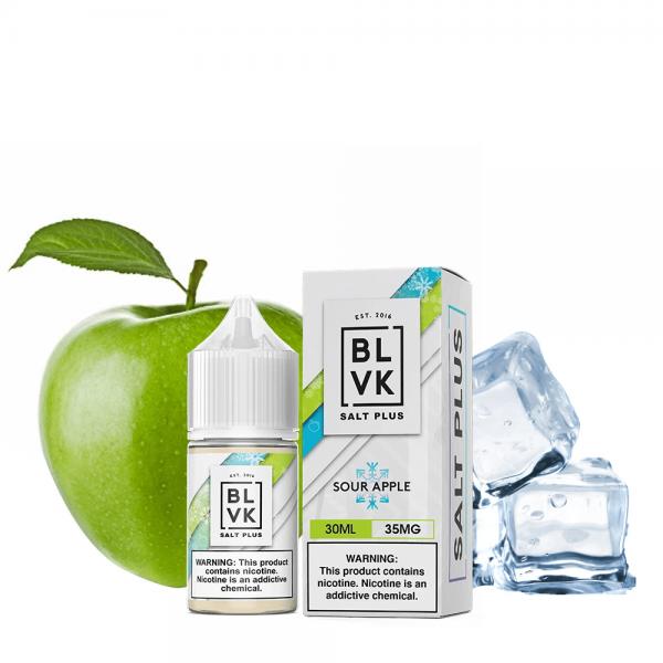 BLVK | Sour Apple Salt 30ml