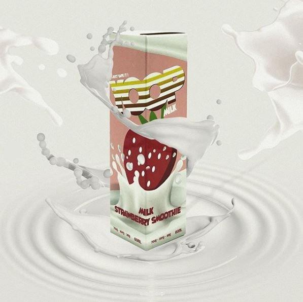 Yoop Strawberry Milk 60ml-0