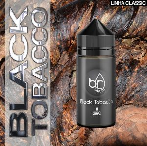 Br Liquid - Black Tobacco 30ml /100ml