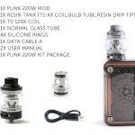 Teslacigs Punk 220w Kit