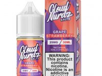 Cloud Nurdz | Grape Strawberry Salt 30ml