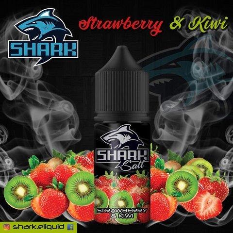 Shark   Strawberry Kiwi Salt 30ml