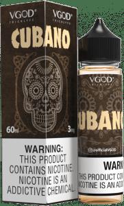 Vgod   Cubano 60ml