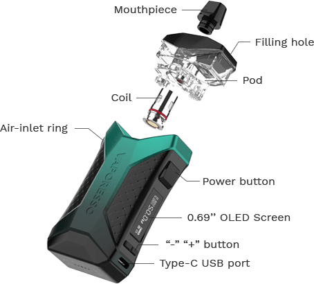 Vaporesso Xiron Pod Mod Kit-4676