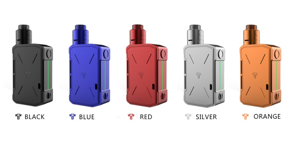 Tesla Cigs Invader IV Kit (Incluso 2 baterias 21700)-4357