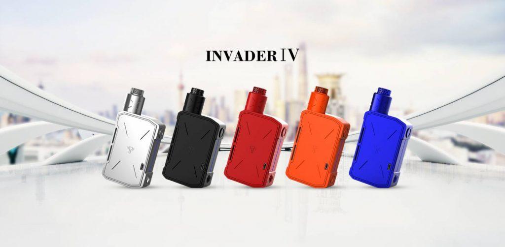 Tesla Cigs Invader IV Kit (Incluso 2 baterias 21700)-0